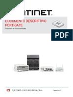 FORTINET-DocumentoDescriptivo FortiGate-2016