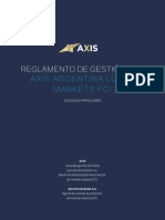 Producto AXIS ARGENTINA LOCAL MARKETS - CLASE F