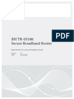 router security TR03148