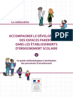 Guide Methodologique Espaces Parents