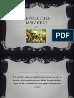 Revolutiile burgheze