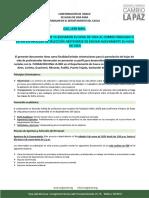Convocatoria Mi Familia CAUCA- Ampliacion de Proceso