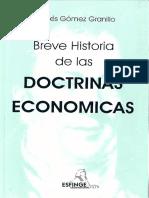 Breve Historia de las Doctrinas Económicas 1