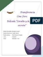 Transferencia Cine Foro Coraline