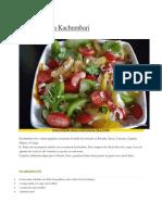 Salata africana Kachumbari