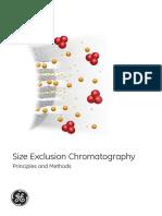 Size exclusion chortamography