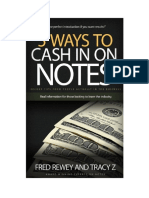 5 Ways to Cash in on Notes. Just Click HERE