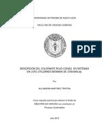 BIOSORCIÓN DEL COLORANTE ROJO CONGO  EN SISTEMAS  EN LOTE UTILIZANDO BIOMASA DE Chlorella sp