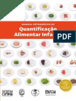 Manual fotográfico de quantificacao alimentar infantil BR