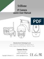 SriHome IP Camera Quick User Manual