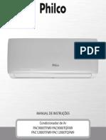 Manual instalação ar condicionado Philco tqfm9