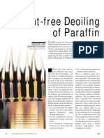 FKR - Solvent_free Deoiling of Paraffin