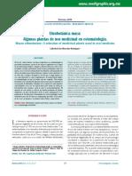 Etnobotánica maya, Algunas plantas de uso medicinal en estomatología..pdf