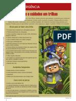 Dicas de Emergência Ed.116  - Riscos e cuidados em trilhas