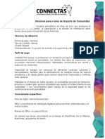 TdR Convocatoria Soporte Comunidad Julio 2019 - Bogotá