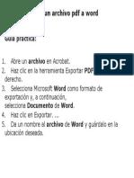 Como convertir un archivo pdf a word.docx