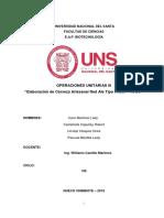INF_CERVEZA ARTESANAL_OPERACIONES UNITARIAS III
