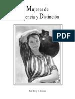 1. Introducción de Mujeres de Influencia y Distinción