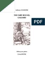 HOLBORNE, Anthony • The Fairy Round (edited by Gérard REYNE) (guitar music score) (+mp3)