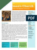 st germans newsletter - 5 jan 2020 - epiphany