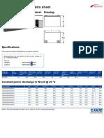 UPS BATT_S12V370 datasheet
