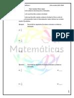 Nota de clase 7.1     Conversión de fracciones comunes y números decimales.