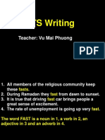 [Pre IELTS Writing] Lesson 1.pptx