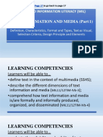 TEXT MEDIA AND INFORMATION