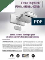 Manual_Folleto Epson BrightLink 695Wi+