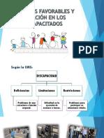 AMBIENTES FAVORABLES Y EDUCACIÓN EN LOS DISCAPACITADOS_.ppt
