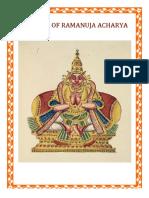 Hagiography of Ramanuja acharya