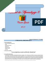 UNIDAD DE APRENDIZAJE 4° - CN - OCTUBRE