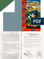 Manual Sonic 3 TecToy