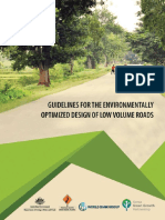 Guidelines for Env Opt Des of Low Volume Roads