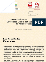 Asistencia Tecnica DLS Valle del Cauca