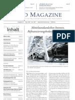 2010-12 BOND MAGAZINE Ausgabe 01 Titel Und S.13 Mittelstandsmarkt
