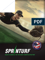 Sprinturf Baseball Brochure