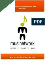 Teoria y armonia Musinetwork 1
