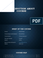 Introduction About Course