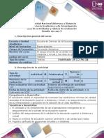 Estudio de caso 2 Manual aseguramiento calidad