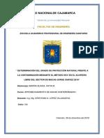 DETERMINACIÓN DEL GRADO DE VULNERABILIDAD DE UN ACUÍFERO