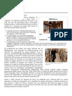 Biblioteca – Wikipédia, A Enciclopédia Livre