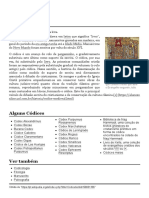 Códice – Wikipédia, A Enciclopédia Livre