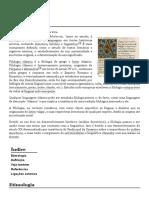 Filologia – Wikipédia, A Enciclopédia Livre