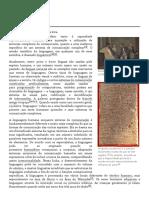 Linguagem – Wikipédia, A Enciclopédia Livre