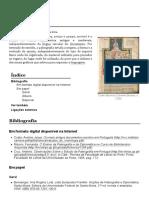 Paleografia – Wikipédia, A Enciclopédia Livre