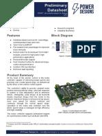 Datasheet Axiom Control Board