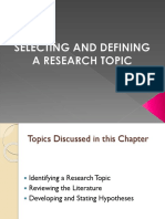 2-Selecting and Defining a Research Topic-1
