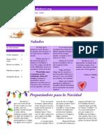 Newsletter Los cuidadores Noviembre