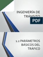 1.2 PARAMETROS BASICOS DEL TRAFICO